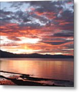 Tahoe June Sunset Metal Print