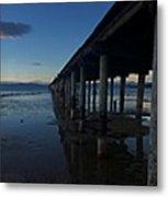 Tahoe Pier Metal Print