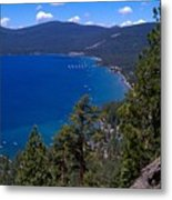 Tahoe Rim Trail Metal Print