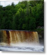 Tahquamenon Lower Falls Upper Peninsula Michigan 10 Metal Print