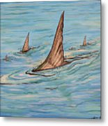 Tailin Bonefish Metal Print