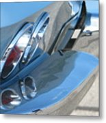 Taillight Reflections Metal Print