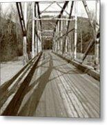 Taiya River Bridge #1 Metal Print