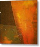 Take A Sip Of The Golden Hour Metal Print