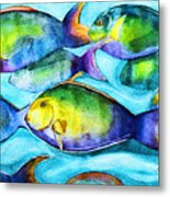 Take Care Of The Fish Metal Print