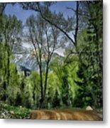 Take Me Home Country Road Metal Print