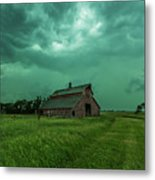 Take Shelter Again Metal Print
