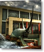 Take The Bull By The Horns Metal Print