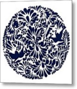 Talavera Design Metal Print