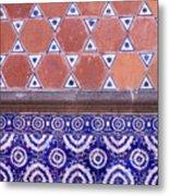 Talavera Tiles Puebla Mexico Metal Print