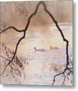 Tales From The Riverbank  Iv Metal Print