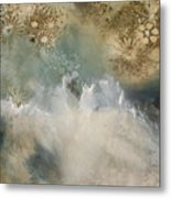 Talking With The Ocean Metal Print