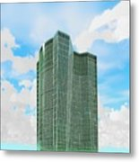 Tall And Green Metal Print