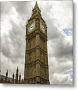 Tall Big Ben Metal Print