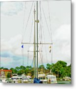 Tall Boat Metal Print