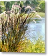 Tall Grasses Metal Print