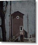 Tall Little Stilt House 3 Metal Print
