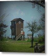 Tall Little Stilt House, Metal Print