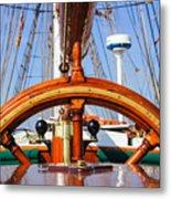 Tall Ship 2 Metal Print