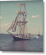Tall Ship - 3 Metal Print