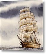 Tall Ship Adventure Metal Print