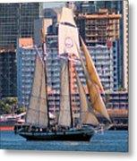 Tall Ship In San Diego  Metal Print