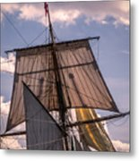 Tall Ship Sails 6 Metal Print
