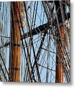 Tall Ship Series 11 Metal Print
