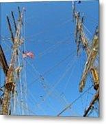Tall Ship Series 16 Metal Print by Scott Hovind