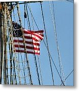 Tall Ship Series 3 Metal Print by Scott Hovind