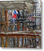 Tall Ship Series 4 Metal Print