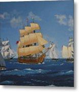 Tall Ships Duluth I Metal Print