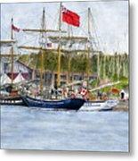 Tall Ships Festival Metal Print