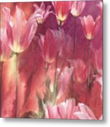 Tall Tulips Metal Print