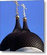 Tallinn Estonia Alexander Nevski Cathedral. Metal Print