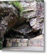 Tallulah Gorge Stone Bench 2 Metal Print