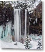 Tamanawas Falls 1 Metal Print