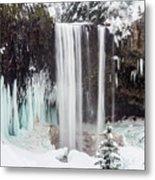 Tamanawas Falls 2 Metal Print
