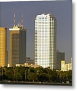 Tampa And Bayshore Metal Print