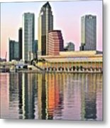Tampa Bay Alive With Color Metal Print