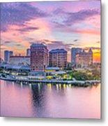 Tampa Bay Panorama  Metal Print