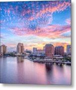 Tampa Bay Sunrise Metal Print