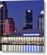Tampa Convention Center Metal Print