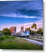 Tampa Departure Metal Print