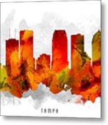 Tampa Florida Cityscape 15 Metal Print