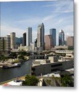 Tampa Florida Landscape Metal Print