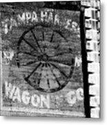 Tampa Harness Wagon N Company Metal Print