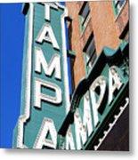 Tampa Tampa Metal Print