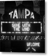 Tampa Theatre 1939 Metal Print by David Lee Thompson