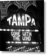 Tampa Theatre Gone With The Wind Metal Print